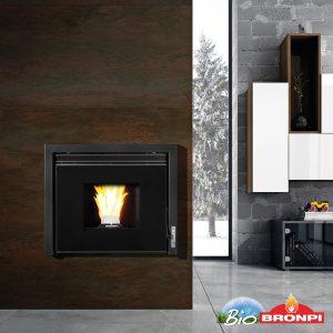 Alpes Hydro boiler pellet stove