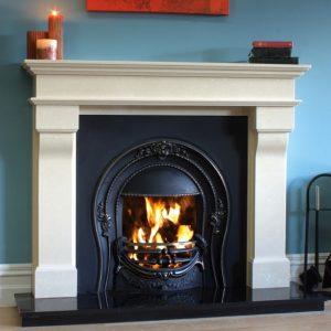 Marseilles fireplace