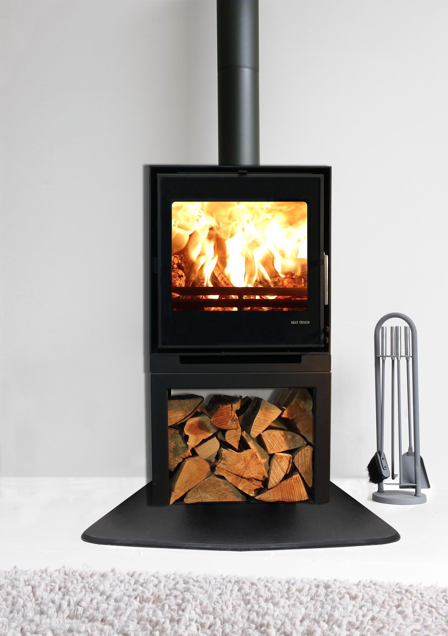 Vitae Freestanding Cassette Stove Fireplaces Ireland