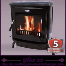 Pierce Glas 20 Boiler stove