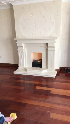 Bridge Complete fireplace with Optimyst electric fire
