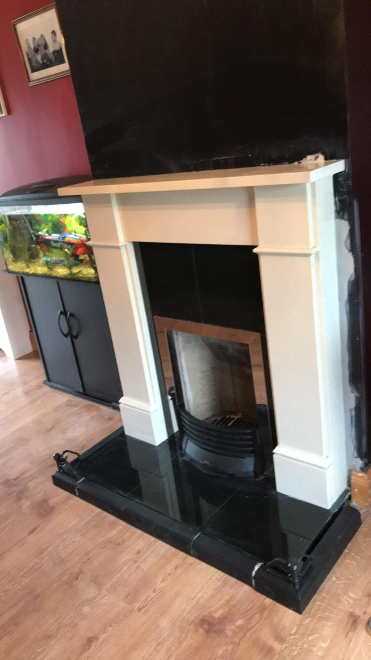 Ariel fireplace (custom fit)