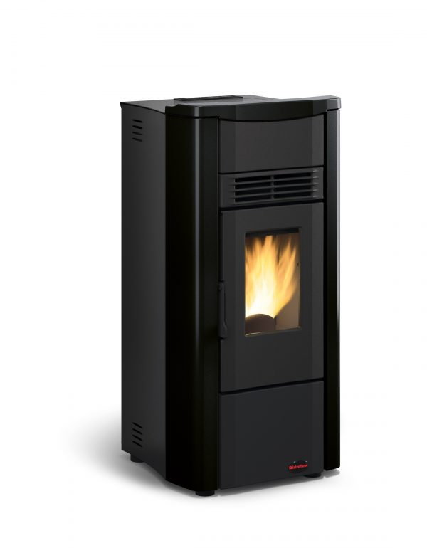 Giusy plus pellet stove black