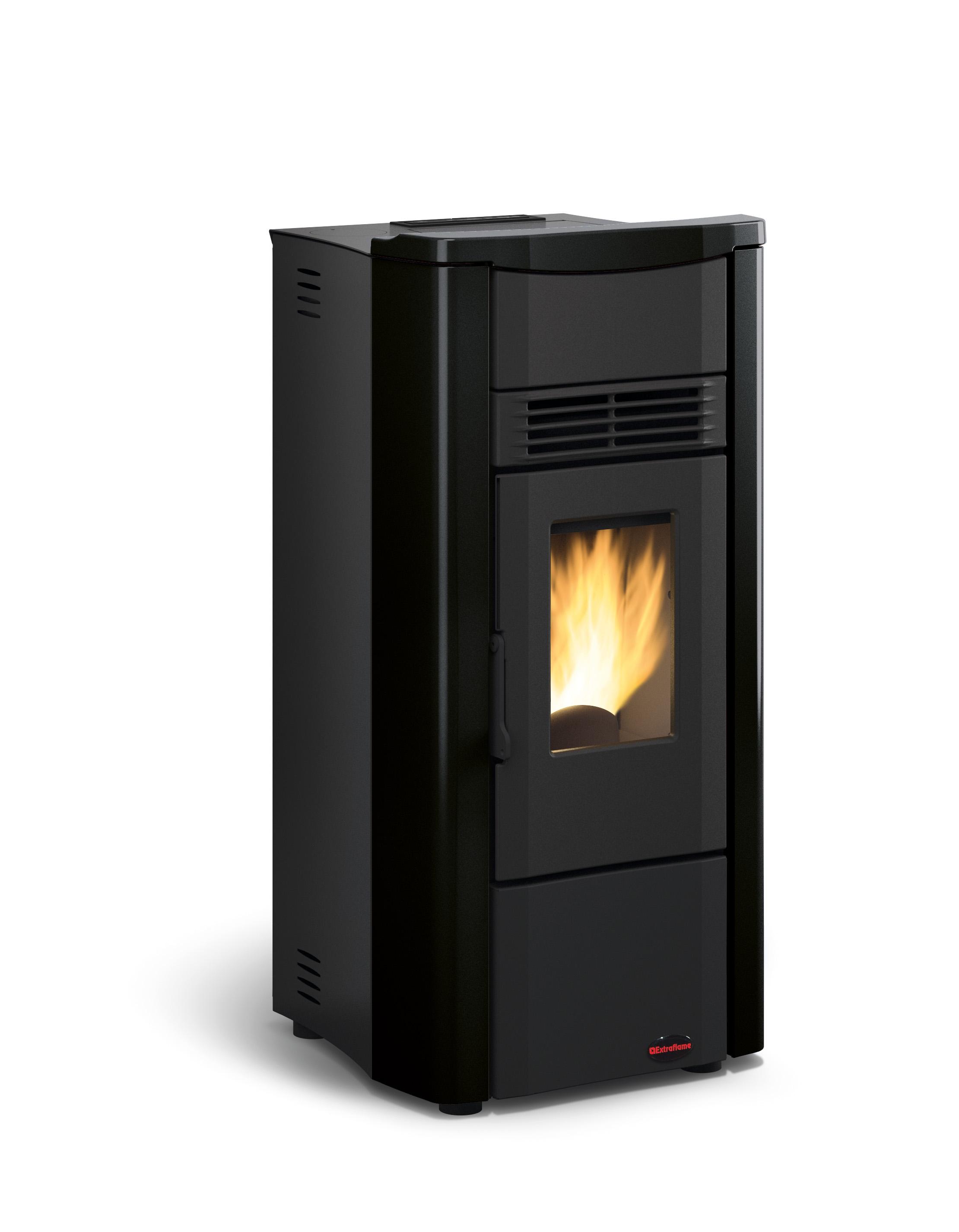 Giusy plus pellet stove black