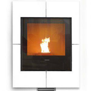 Idra Maxi pellet boiler stove