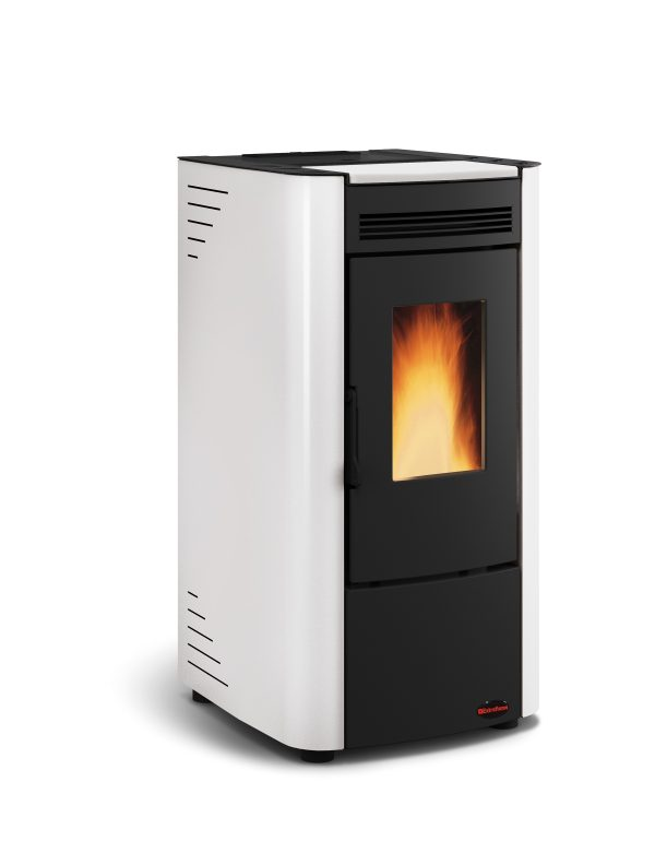 Ketty pellet stove White
