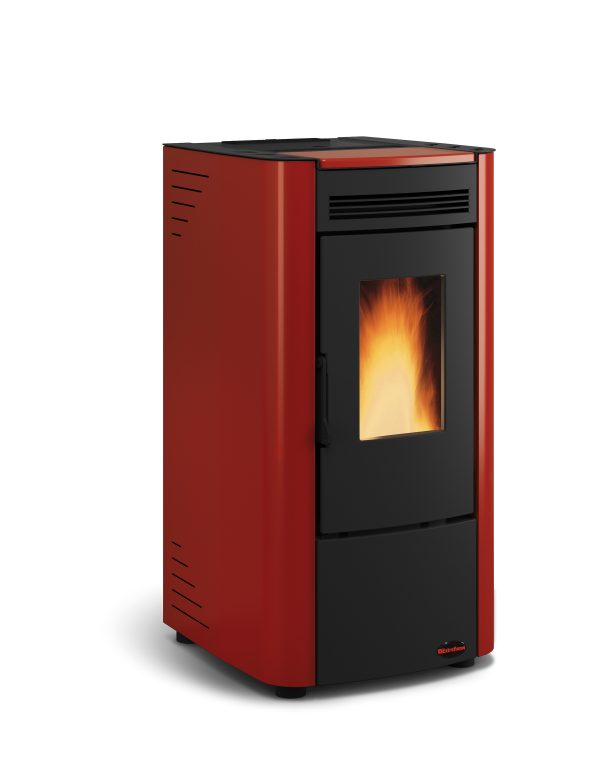 Ketty pellet stove Red