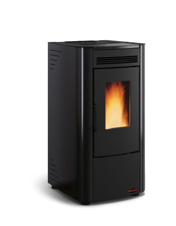 Ketty pellet stove Black