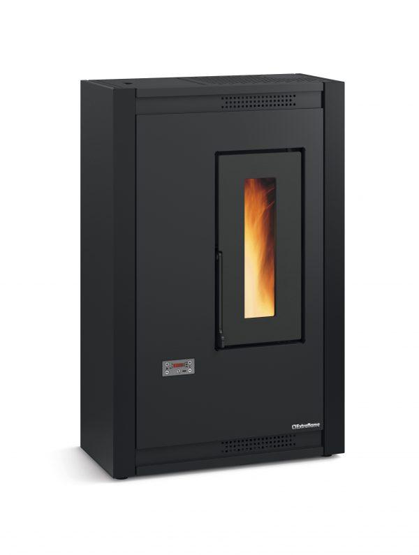 Luisells pellet stove black
