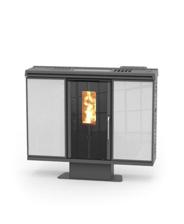 Slim quadro fireplaces ireland for Thermorossi slim quadro