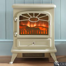 ES2000 Cream electric fire