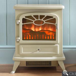 ES2000 Cream electric fire