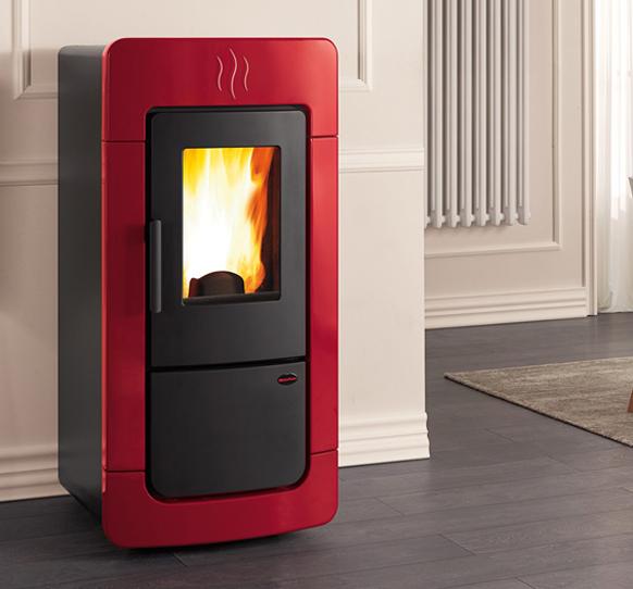 Diadema acs idro boiler pellet stove