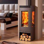 panadero alba ecodesign wood burning wood burning stove