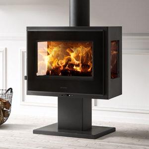 panadero atlantic 3v ecodesign wood burning stove