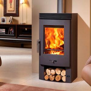 panadero bergen ecodesign wood burning stove