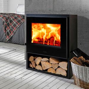 panadero borneo s ecodesign wood burning stove