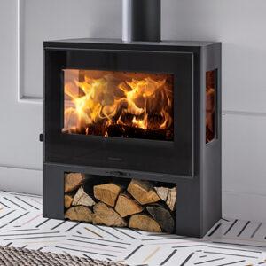 panadero capri 3v ecodesign wood burning stove