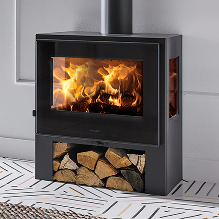 panadero capri 3v ecodesign wood burning stove
