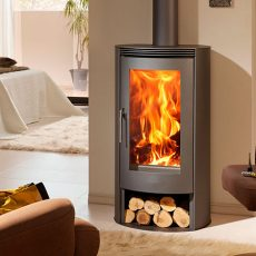 panadero delta ecodesign wood burning stove