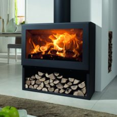 panadero fenix ecodesign wood burning stove