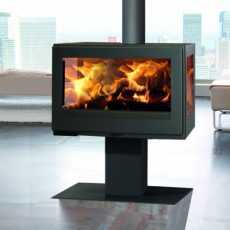 panadero harmonie ecodesign wood burning stove