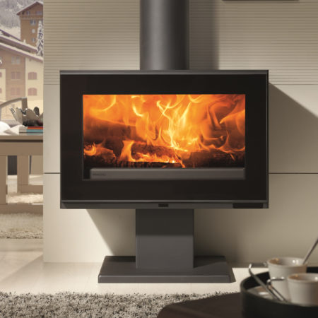 panadero maja s ecodesign wood burning stove