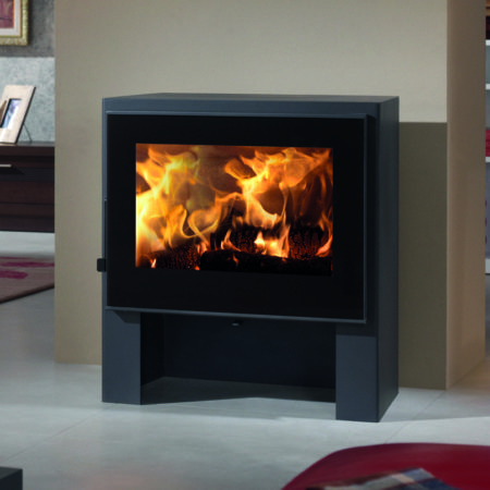 panadero naxos ecodesign wood burning stove