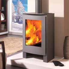 panadero nevada ecodesign wood burning stove