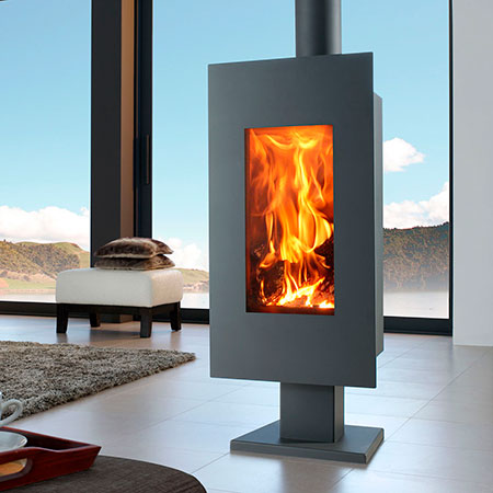 Panadero Osaka ecodesign wood burning stove