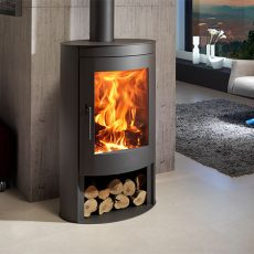 Panadero Oval ecodesign wood burning stove