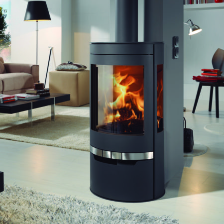 panadero suerte ecodesign wood burning stove
