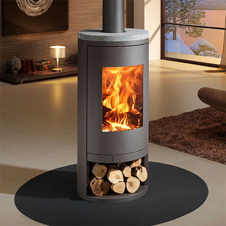 panadero sydney ecodesign wood burning stove