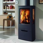 panadero zinc ecodesign wood burning stove