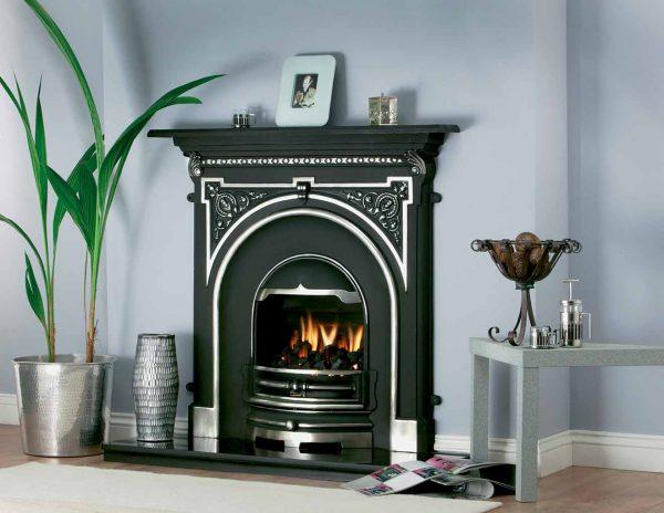 Tara cast iron fireplace