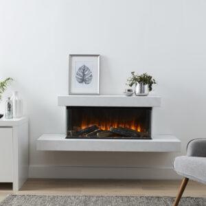 Brockenhurst white marble